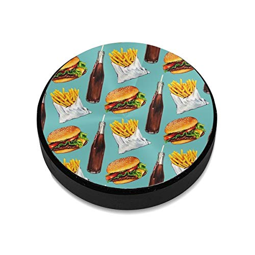 Coke Chips and Hamburger Pattern Universal Magnetic Mount Magnetic Car Mount Phone Holder for Cell Phones