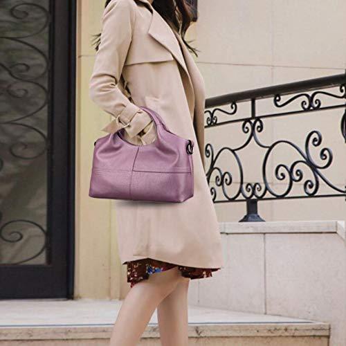 À Purple Sac De Main Red M Dames couleur Bandoulière Épaule Des Moyen Taille En Mode Wygmadlifeqq D'âge Femmes wCq54nqA