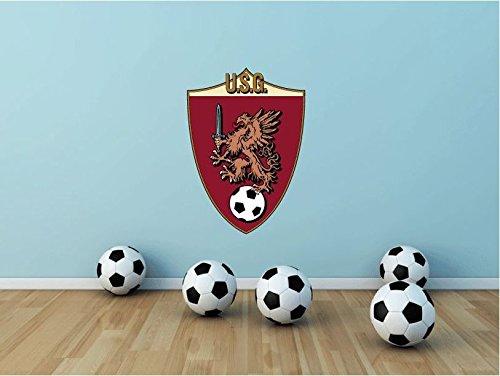 US Grosseto FC Italy Soccer Football Sport Art Wall Decor Sticker 25'' X 17'' by postteam