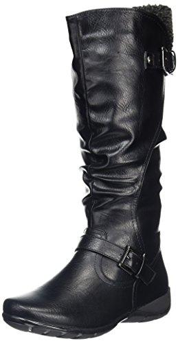 Lotus Calista Womens Calf Length Boots Black