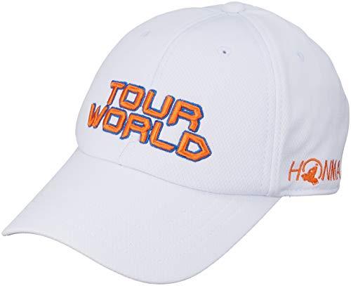 本間ゴルフ TOUR WORLD 831-419601 メンズ ホワイトイエローオレンジ FREE(57~59cm)
