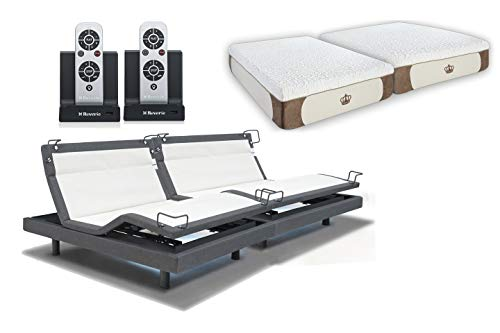 2019 Prodigy 2.0 Split King Free White Glove Delivery 10 Year Extended Warranty Leggett Platt Adjustable Bed Base King Split