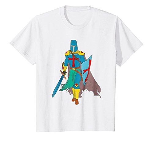 Knight Warrior Crusader - Kids Templar Knight T-Shirt Medieval Order Crusader Warrior