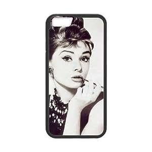 AUDREY HEPBURN New Fashion Case for iphone 4 4s , Popular AUDREY HEPBURN Case