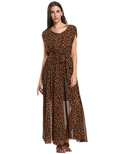 Choies Womens Leopard Print Empire