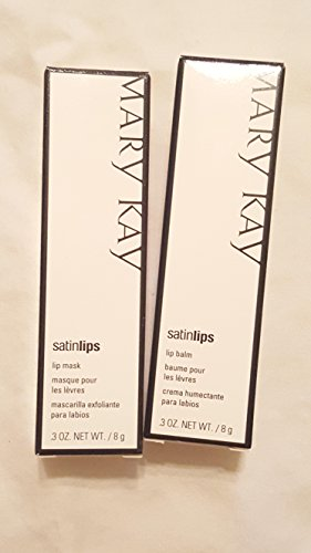Mary Kay Satin Lip Set .3 oz (Mask and Balm)