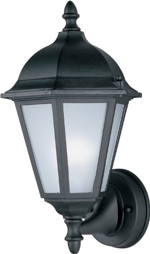 - Maxim Lighting 85102BK, Westlake EE 1-Light Outdoor Wall Lantern, Black