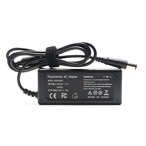 65W Laptop Charger AC/DC Adapter for HP Pavilion G4 G6 G7 M6 DM4 DV4 DV5 DV6 DV7 G60 G61 G72; EliteBook 2540p 2560p 2570p 2730p 2740p Power Supply Cord by ROLADA (Image #2)