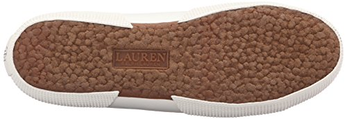 Lauren Ralph Lauren Womens Jolie Fashion Sneaker In Nylon Piquet Nero