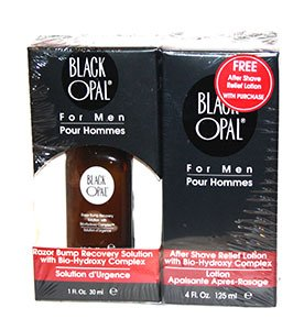 Black Opal For MEN Razor Bump Recovery Solution 30ml + FREE After Shave Relief Lotion 125ml - By SONIK PERFORMANCE