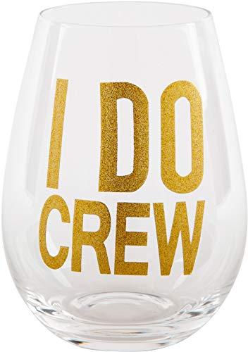 - Home Essentials Oversized 28 Oz Stemless Glass I Do Crew