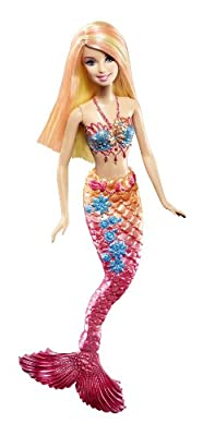 Barbie Pink Color Change Mermaid Doll from Mattel