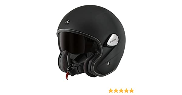Amazon.com: Shark Helmets Unisex-Adult Heritage Helmet (Matte Black, Large): Automotive