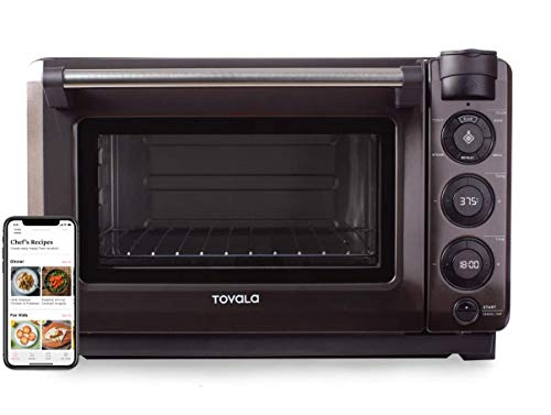 Tovala Gen 2 Smart Steam Oven | Countertop WiFi Oven | 5 Mode Programmable Oven | Toast, Steam, Bake, Broil and Reheat…