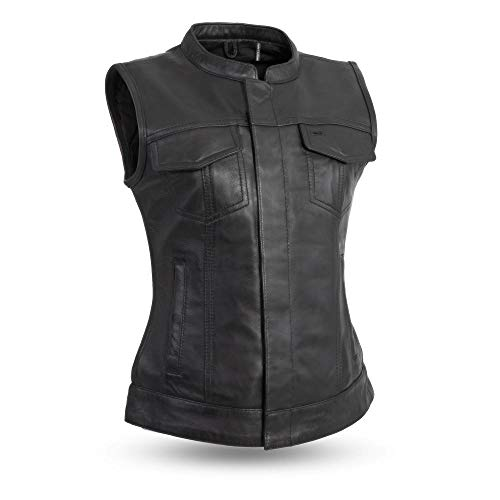 Price comparison product image First Manufacturing Company Inc. Ladies Leather Vest - Ludlow (S Regular)