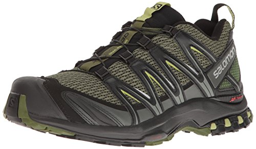 Salomon Men's XA PRO 3D Trail Runner, Chive, 11 M US ()