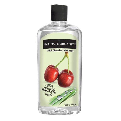 INT040 - Cerise intime sauvage biologique aromatisés Lube
