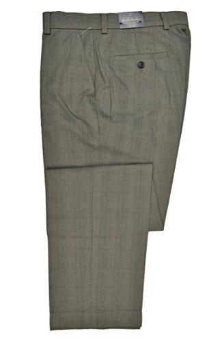 Brooks Brothers Men's Clark Fit Advantage Chino Pants Brown Plaid 32W x 30L