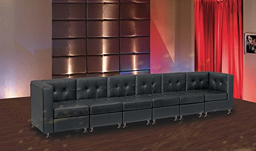 Modern Line Furniture 9049B G10 Modular Leather Long Sofa For  Restaurant/Bar/Nightclub