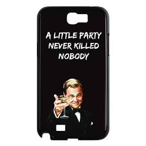 Samsung Galaxy N2 7100 Cell Phone Case Black Wolf Of Wall Street