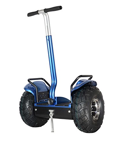 Smart Self Balance Scooter Personal Transporter 19 inch All Terrain Tires (Blue)