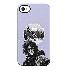 Game Of Thrones Jon Snow Hard Plastic Phone Case Cover Shell For iPhone 4 & iPhone 4s
