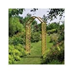 Tan Gardman Elegance Wooden Arch and...