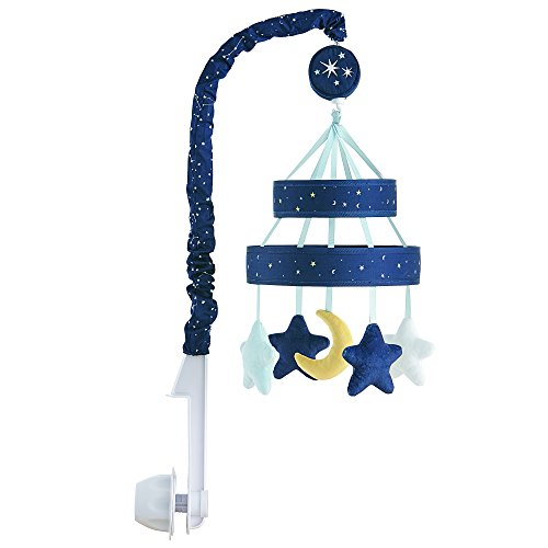 Ivanka Trump Stargazer Collection: Baby Mobile Crib Mobile Musical Mobile - Galaxy Star Mobile in Blue
