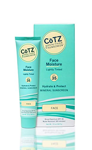 Cotz Face Lighter Skin Tone Spf 40, 1.5 Ounce