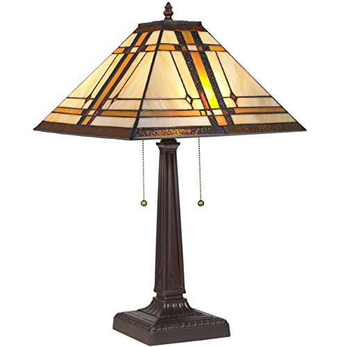 Best Choice Products Tiffany Style Table Reading Lamp Mission Design Table Desk Lighting