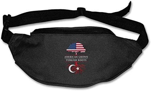 トルコのルーツで成長したアメリカ人ユニセックスアウトドアファニーパックバッグベルトバッグスポーツウエストパック