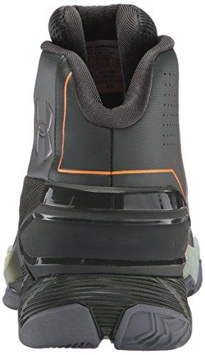 Under Armour Longshot Basketball Scarpe Artillery Green/Atlas Green