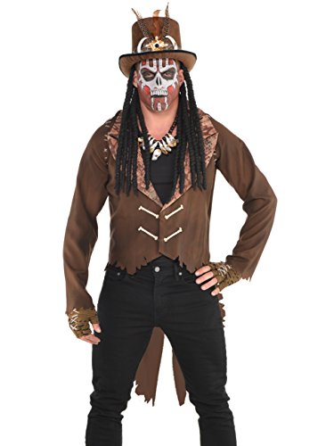 Witch Doctor Costume Girl - Witch Doctor Jacket Costume - Standard - Chest Size 42