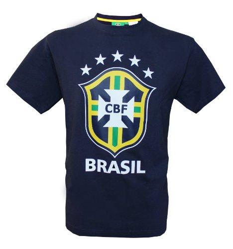 Seleçao Brasil–Camiseta oficial de la selección de fútbol de Brasil, talla para hombre adulto