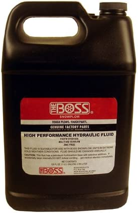 Boss Snowplow Hydraulic Fluid Oil 1 Gallon HYD01836