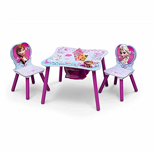 Disney Frozen Table and Chair Set with Storage by TT89494FZ