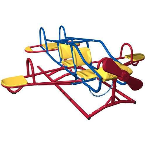 Lifetime 151110 Ace Flyer Airplane Teeter Totter, Primary ()