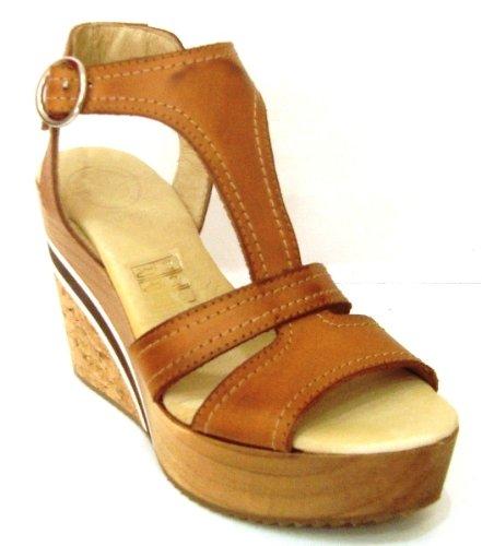 e20e9cc3841 Alida - Sandalia de Cuña de Madera - 2776 Avellana - Mujer - Talla 35   Amazon.es  Zapatos y complementos