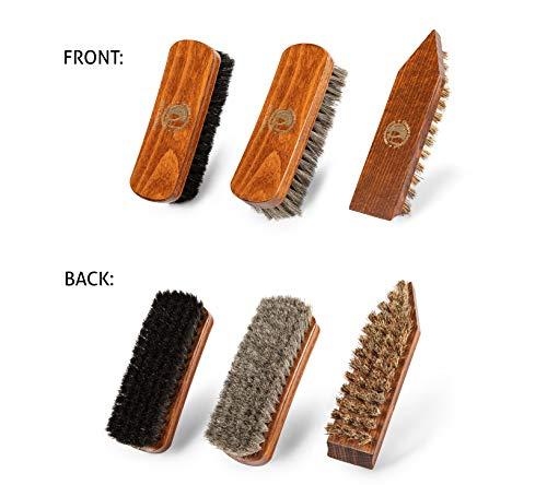 Kit d'entretien du cuir pour polir et entretenir vos chaussures en cuir lisse et vos bottes en cuir - Livré dans une… 4