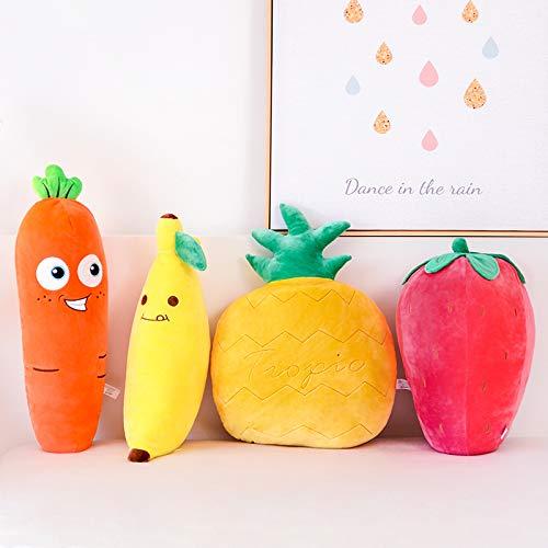 Lazada Kids Pillows Plush Banana Pillows Stuffed Super Soft Toys Throw Pillows Fruit Design Decoration Gifts 18″