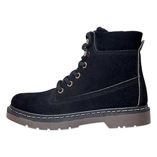 Boots Grip Sole Biking High Boots Women's Winter Black Outdoor Block Bootie Chelsea Frestepvie Shoes Ankle Top Ladies Low Hiking Desert wP15qTT7