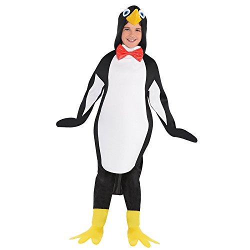 Penguin Kids Fancy Dress Festive Animal Bird Zoo Girls Boys Child (Waddle Halloween)