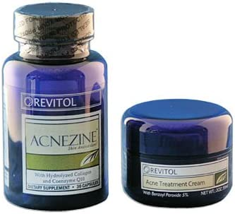 Revitol Acnezine Kit Natural Acne Cure Amazon Ca Health