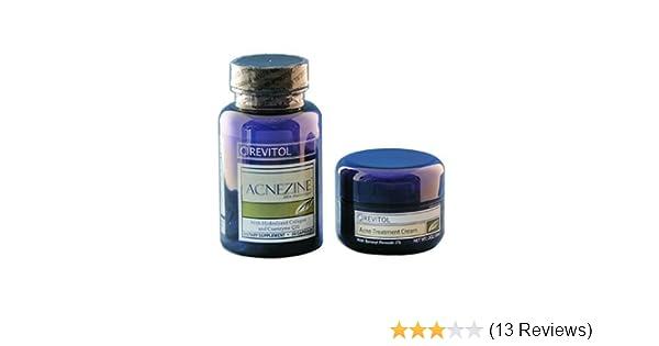 Amazon Com Revitol Acnezine Kit Natural Acne Cure