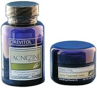 Revitol Acnezine Kit Natural Acne Cure Amazon Ca Health