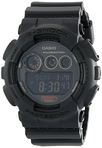 G-Shock GD-120 Military Black Sports Stylish Watch - Black / One - Time International Shipping
