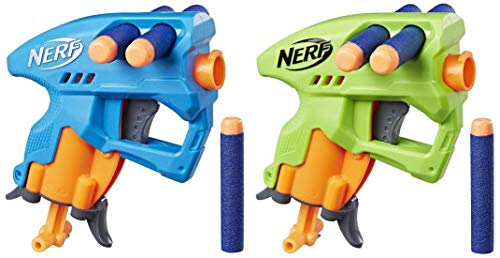 Nerf N Strike Nano Fire, Blue   Green