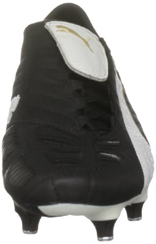 Puma - Zapatillas de fútbol Black/white/gold