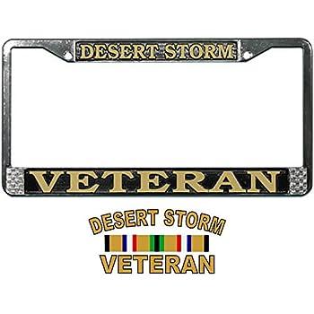 Desert Storm Veteran with Ribbon Decal D51