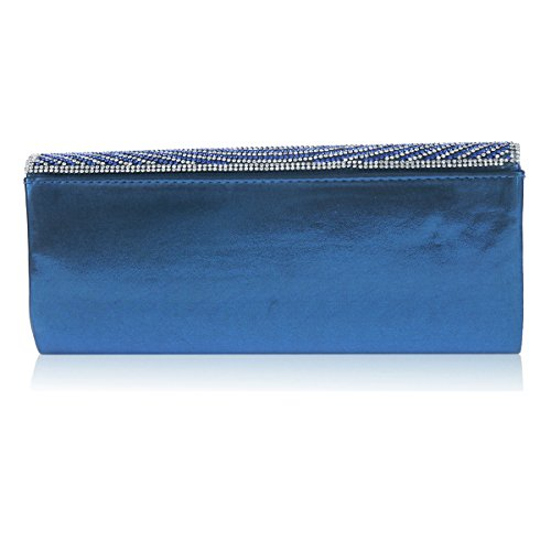 Flap Bag Damara Rhinestone Spread Womens Circular Womens Flap Damara Evening Spread Silver Rhinestone Circular f1vAqw